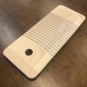 昔ながらの木製 洗濯板 ミニ 【ぶな】 せんたく板