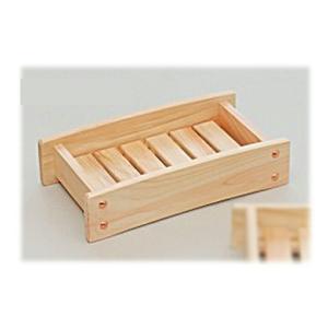 日本製 昔ながらの木製シャンプー台 (国産ひのき)     【檜 桧 シャンプー置き 浴用品】|kunikichisyouten