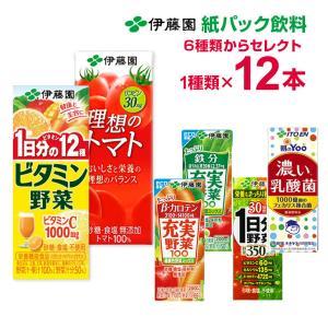 伊藤園 1日分の野菜など200ml×12本6種...の関連商品6