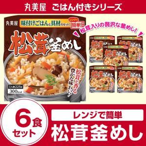 丸美屋食品 松茸釜めし 味付けごはん付き×6食の関連商品8