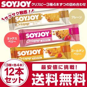 ソイジョイクリスピー 3種詰合せ 3種×4本 計12本セット 送料無料