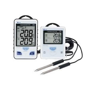 【シンワ測定】 ワイヤレス温度計 A 最高・最低 隔測式ツインプローブ 防水型 73241|kunimotohamono