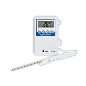 【シンワ測定】 デジタル温度計 隔測式プローブ 防水型 H-1 73080|kunimotohamono