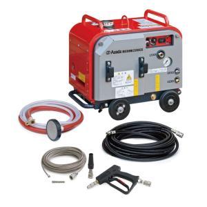 アサダ 高圧洗浄機23/80GSP (エンジン式・防音タイプ・洗管仕様) HD2308SP 運賃別途|kunimotohamono