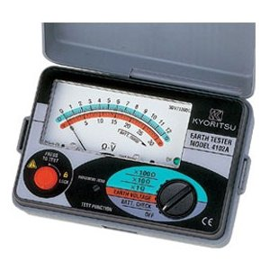 共立電気 接地抵抗計(ソフトケース付) MODEL4102A|kunimotohamono