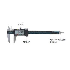 【シンワ測定】 微動送りツマミ デジタルノギス 450・600mm兼用 98909|kunimotohamono