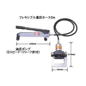 亀倉精機 手動油圧式 パイプ断水機  収納ケース SS-50S 万能タイプ  運賃別途|kunimotohamono