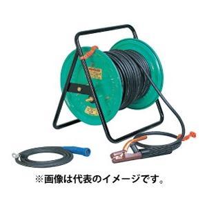 日動工業 溶接リール(普及型) ホルダーセット【20m】22sqケーブル NTK-20J|kunimotohamono