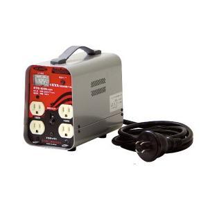 日動工業 降圧専用トランス屋内型安全ブレーカ付(出力100Vのみ)/リングトランス RTB-200D-100V|kunimotohamono