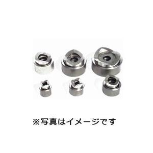 西田製作所 油圧フリーパンチ(ミリネジ仕様) 薄鋼電線管用刃物 CP63(2-1/2