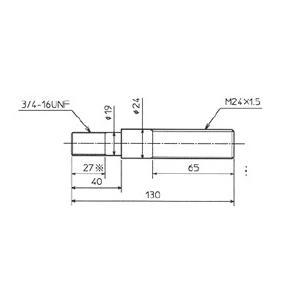 西田製作所 油圧パンチ用 1-2大軸 TP-SBB1-2|kunimotohamono