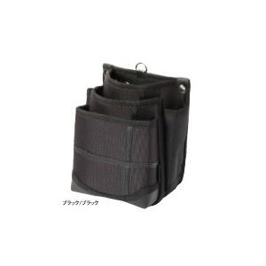 KH 武尊魂 3段 腰袋 ブラック/ブラック TK03K-K