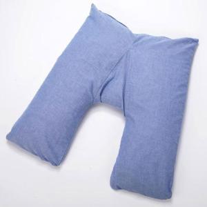あらゆる寝姿に対応 らくらく安眠枕 V字型安眠枕|kunistyle