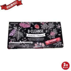 コンブチャ チャコール ダイエット ビークレンズ B-CLEANSE 30包 3箱セット