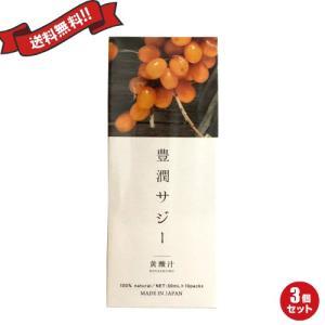 サジージュース サプリ 豊潤サジー スティックタイプ 30ml×10包 3個セット
