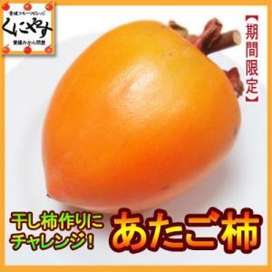 「あたご柿10」【送料無料】愛媛産あたご柿10キロ(約30個)|kuniyasu-seika