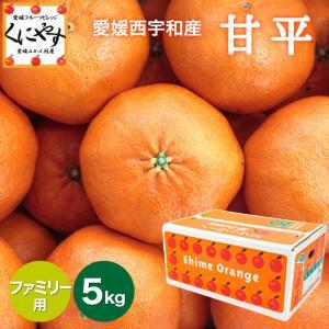 「ファミリー甘平5」【送料無料】【ファミリー用】愛媛甘平(かんぺい)約5kg,せとかにも匹敵する柑橘 kuniyasu-seika
