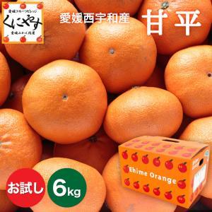 「お試し甘平3×2」【送料無料】お試し,数量限定愛媛甘平(かんぺい)6kg(3kg×2箱),せとかにも匹敵する柑橘 kuniyasu-seika