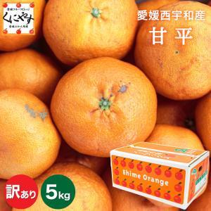 「訳あり甘平5」【送料無料】【数量限定】訳あり愛媛甘平(かんぺい)5kg(5kg×1箱),せとかにも匹敵する柑橘,のしギフト対応不可