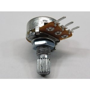 φ16mm 可変抵抗(ボリューム) 単連 100kΩ Aカーブ 基板取り付けタイプ 10個入り kura-parts