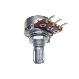 φ16mm 可変抵抗(ボリューム) 単連 200kΩ Bカーブ 基板取り付けタイプ 10個入り kura-parts