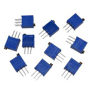 多回転半固定抵抗 1kΩ 102 10個入り (縦型)台湾 BOURNS製 高精度品 3296W|kura-parts