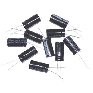 電解コンデンサ 16V ±20% 105℃ 680μF 5個入り