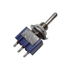 トグルスイッチ Mサイズ AC 6A 125V 3P(中点あり)|kura-parts