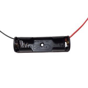 電池ボックス 単3 1本 リード線付き 10個入り|kura-parts
