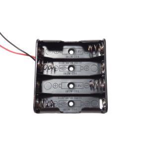 電池ボックス 単3 4本 リード線付き 10個入り|kura-parts