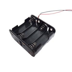 電池ボックス 単3 8本 リード線付き 10個入り|kura-parts