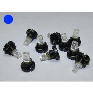 LED T3 青 10個入り ミニベース 1LED(旧製品在庫限り) kura-parts