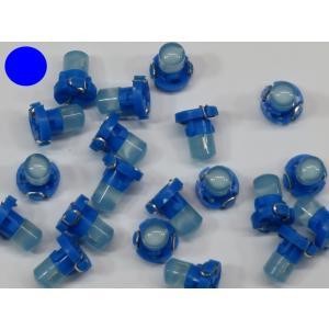 LED T3 青 10個入り ミニベース COB 拡散型 kura-parts