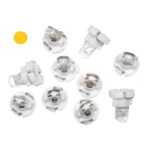 LED T3 オレンジ 50個入り ミニベース 1LED kura-parts