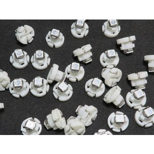 LED T3 青 50個入り ミニベース 1smd 3030 kura-parts
