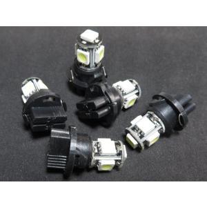 LED T6.5 白 ソケット一体型 5SMD 5050|kura-parts