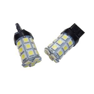 LED T20 標準 バックライト 10個入り 27SMD 5050 白 シングル球|kura-parts