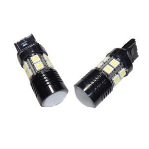 LED T20 高輝度 バックライト 12SMD 5050 + CREE 白 シングル球|kura-parts