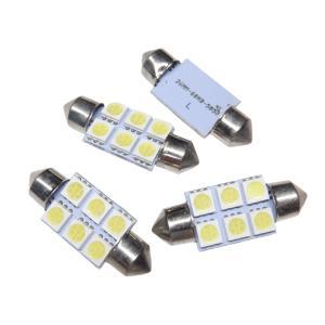 LED T10 36mm 6SMD 5050 白|kura-parts