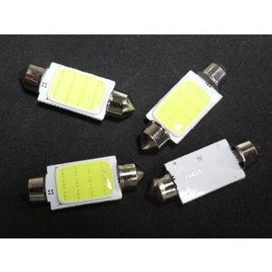 LED T10 39mm 10個入り COB 白|kura-parts