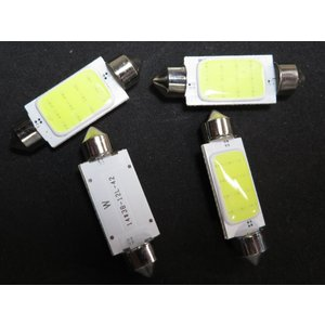 LED T10 41mm 10個入り COB 白|kura-parts