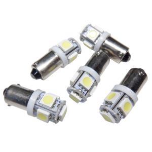 LED BA9s 10個入り 5SMD 5050 白|kura-parts
