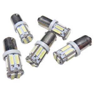 LED BA9s 10SMD 7014 白|kura-parts