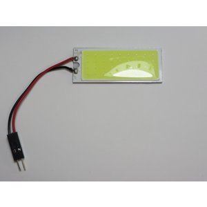 LED 超高輝度パネルルームランプ 10個入り 50mm×20mm COB 白 面発光 ※要加工 kura-parts