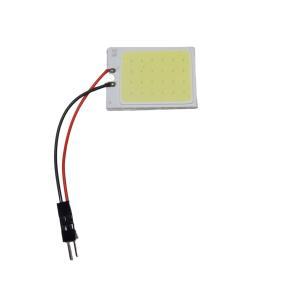 LED 超高輝度パネルルームランプ 10個入り 36mm×26mm COB 白 面発光 ※要加工 kura-parts