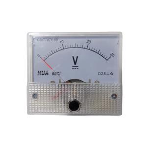 アナログ電圧計 DC 30V パネルメーター|kura-parts