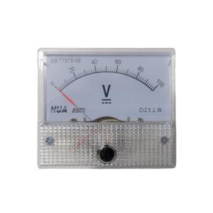アナログ電圧計 DC 100V パネルメーター|kura-parts