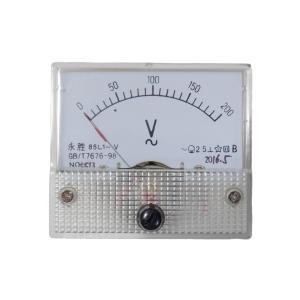 アナログ電圧計 AC 200V パネルメーター|kura-parts