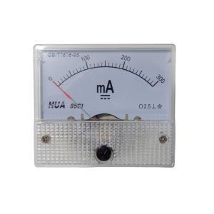 アナログ電流計 DC 300mA パネルメーター|kura-parts