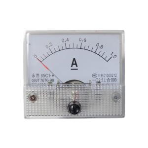 アナログ電流計 DC 1A パネルメーター|kura-parts
